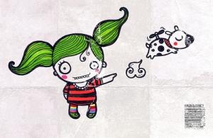Ilustração da minha amiga querida, Elisa Sassi.