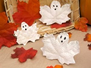 folhas de fantasmas