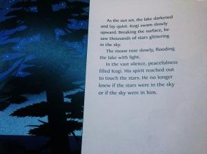 Aprendo e me inspiro muito com os livros infantis que leio para as crianças.