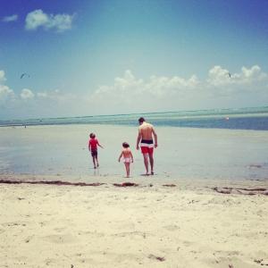praia Antes que eles crescam