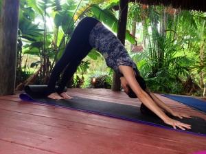 Yoga 7 antes que eles crescam