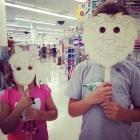 crianças mascara antes que eles crescam
